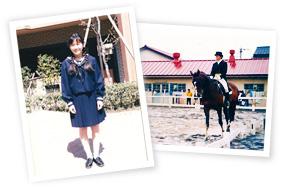高校入学/馬術部の写真