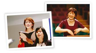 グリークラブ(女声合唱)/指揮者の写真